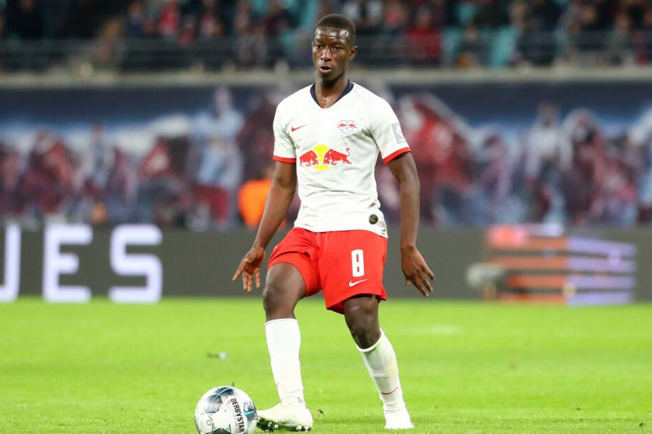 In der fünften Minute sorgte Amadou Haidara für die Führung des RB.