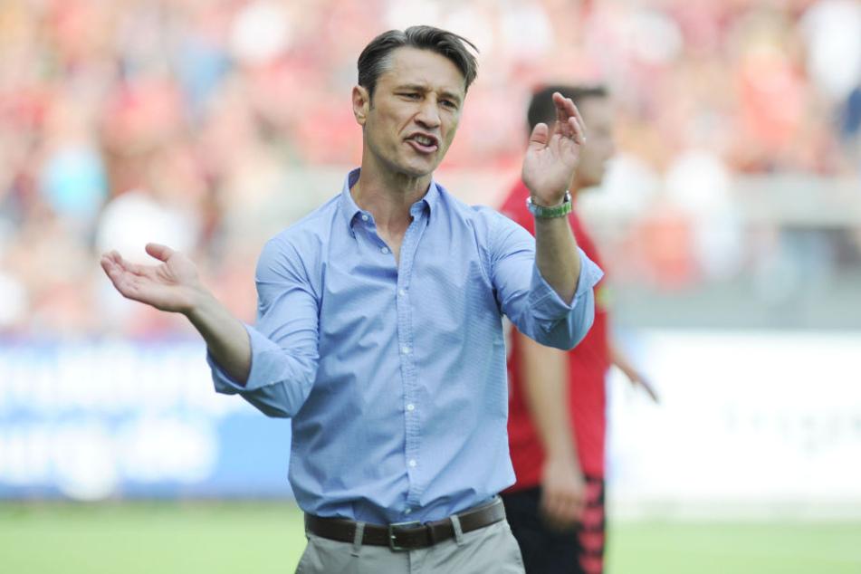 Niko Kovac will mit der Eintracht den ersten Saison-Dreier einfahren.