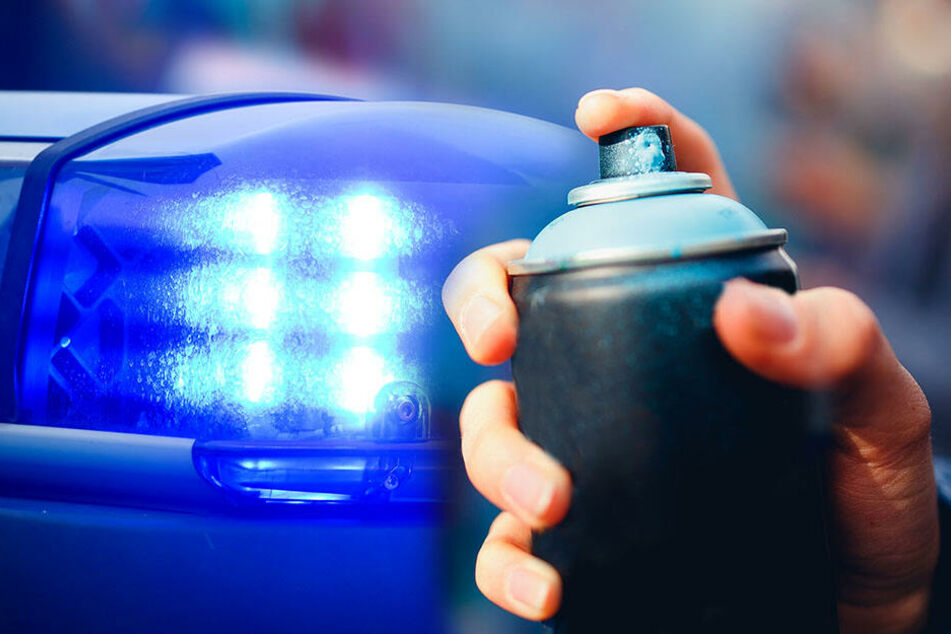 Autobahnbrücken auf A4 beschmiert: Polizei sucht Zeugen!
