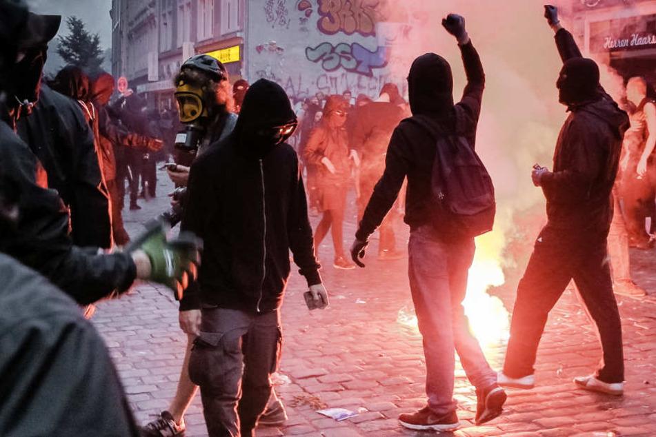 Bei den G20-Protesten in Hamburg kam es zu schweren Ausschreitungen.