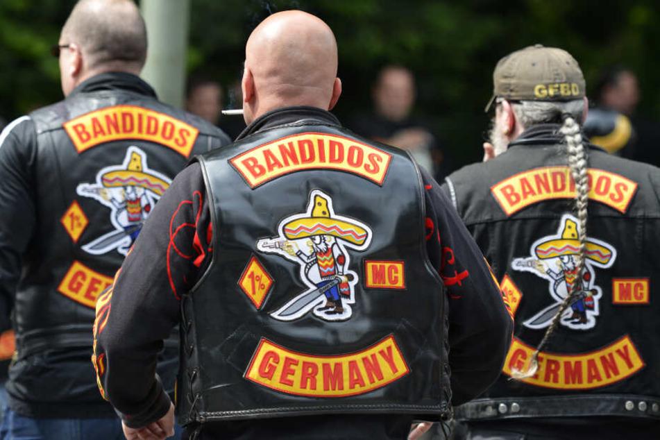 """Die """"Bandidos"""" gelten als eine kriminelle Rocker-Bande."""