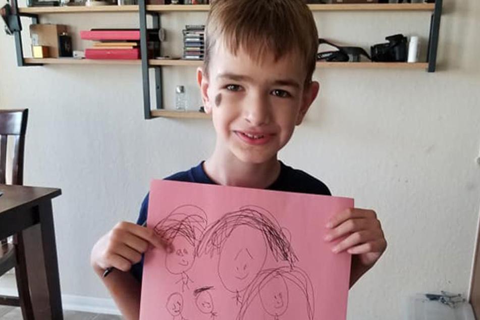 Mason Motz leidet unter dem Sotos-Syndrom. Seit seiner Geburt hatte der Junge noch kein Wort gesagt.