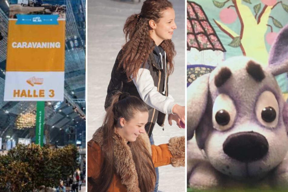 Puppen, Messe, Eislaufen: Das könnt Ihr am Sonntag in Leipzig erleben