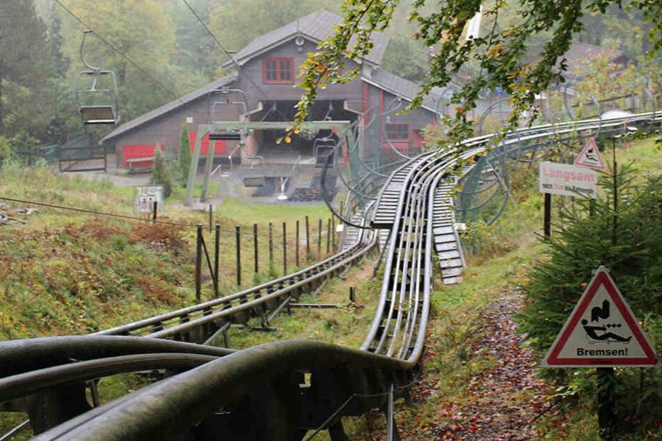 Die Rodelbahn im Freizeitpark bleibt vorerst geschlossen.