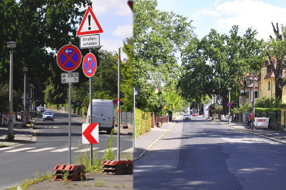 Millionen-Sanierung: Dresdens schlimmste Huckelpiste wird drei Jahre lang geglättet