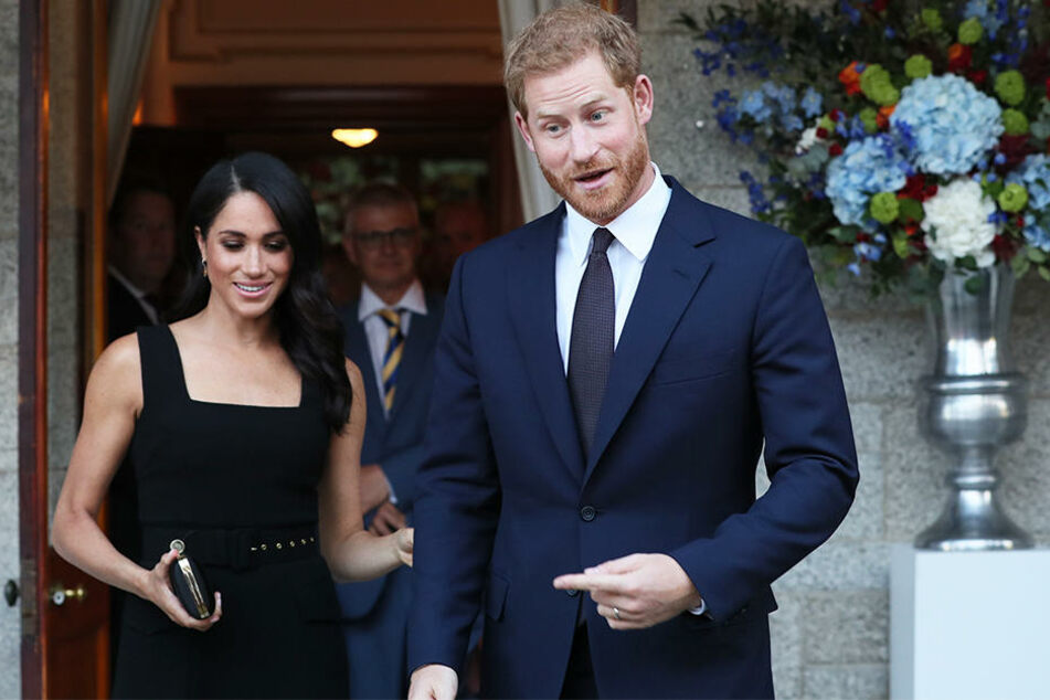 Prinz Harry ist mächtig stolz auf seine Meghan.