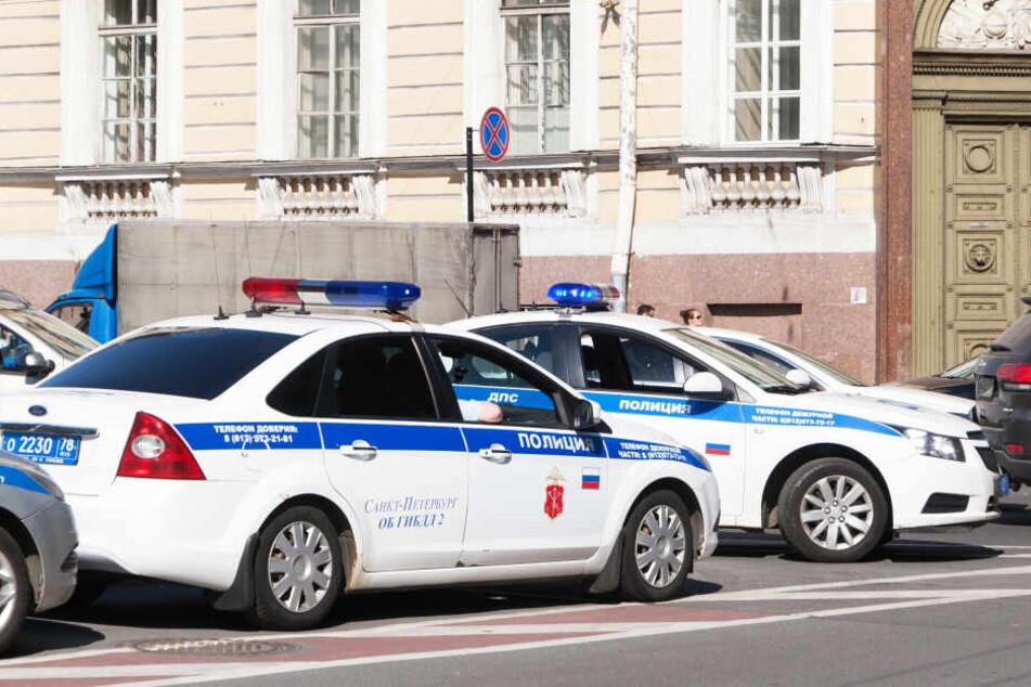 Die Polizei rückte in St. Petersburg an (Symbolbild).