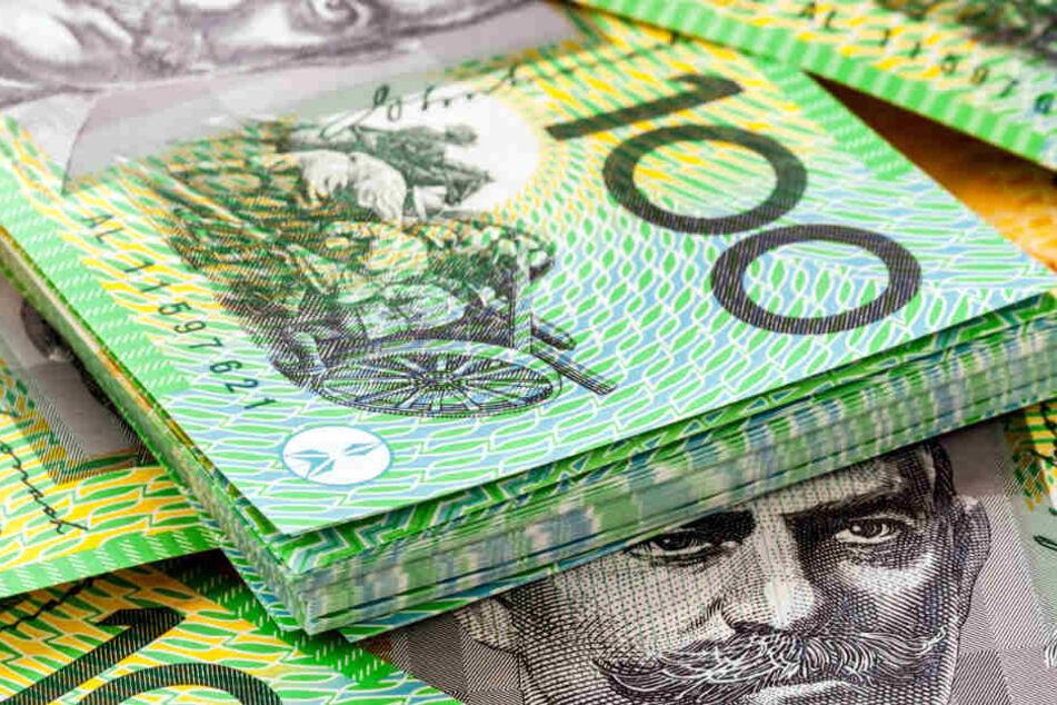 Der Mann darf sich über knapp 2,5 Millionen australische Dollar freuen. (Symbolbild)