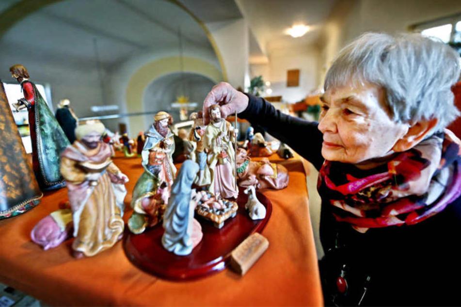 30 Jahre Sammel-Leidenschaft: Diese Frau hat mehr als 200 Krippen