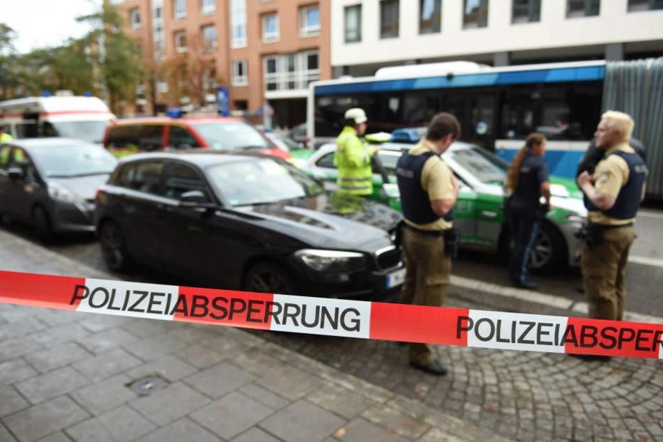 Die Polizei konnte nur kurze Zeit nach dem Angriff einen Tatverdächtigen festnehmen.
