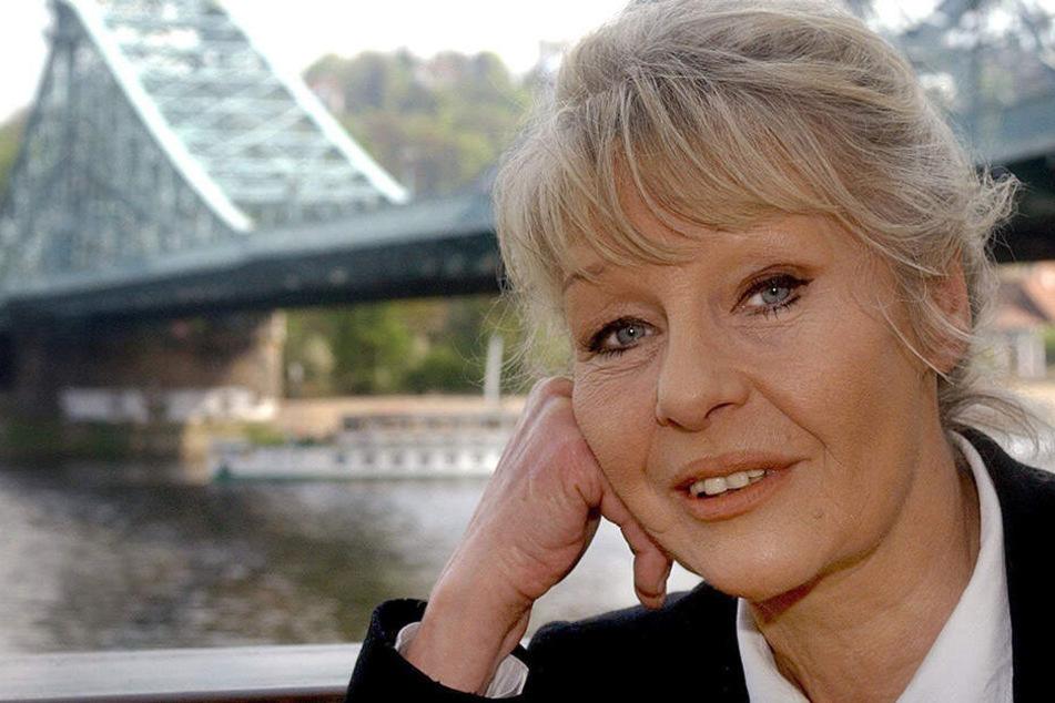 """Marita Böhme im Jahr 2004 - sie beendet ihre Arbeit am Schauspielhaus und beim """"Polizeiruf 110""""."""