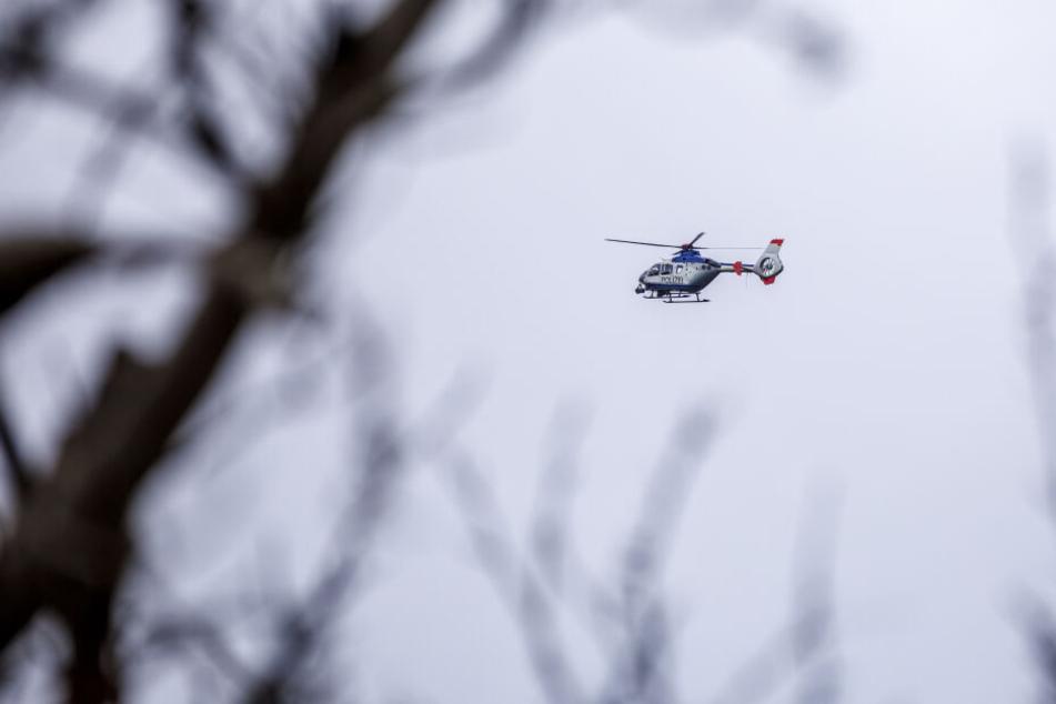Darum kreiste am Dienstag ein Polizeihubschrauber über Chemnitz