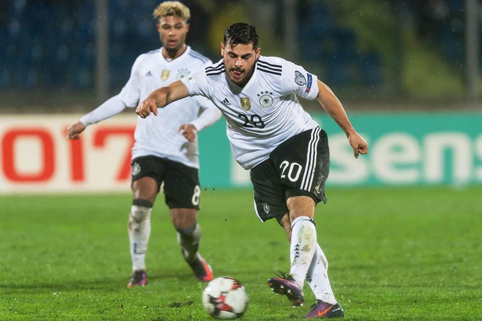 Kevin Volland absolvierte sein letztes Länderspiel am 15.11.2016 (0:0 gegen Italien). Sein einziges Tor im DFB-Dress erzielte er vier Tage zuvor beim 8:0-Sieg in San Marino.