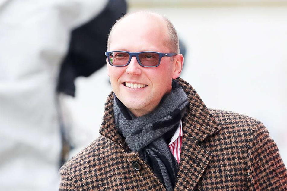 Vorstandssprecher Tobias Leege blickt trotz aller Schwierigkeiten positiv in die FSV-Zukunft.