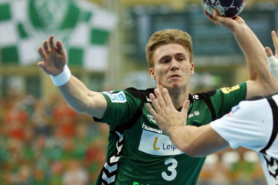 Die Handballer vom SC DHfK Leipzig gewannen am Samstag das Finale des Sachsencups in Altenburg.