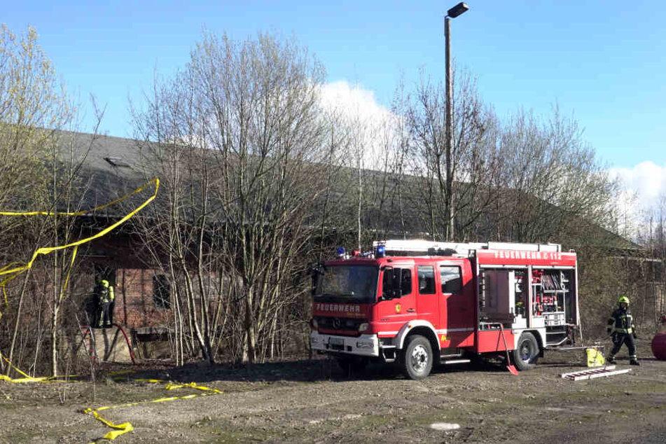 Die Feuerwehr konnte das Feuer schnell löschen.