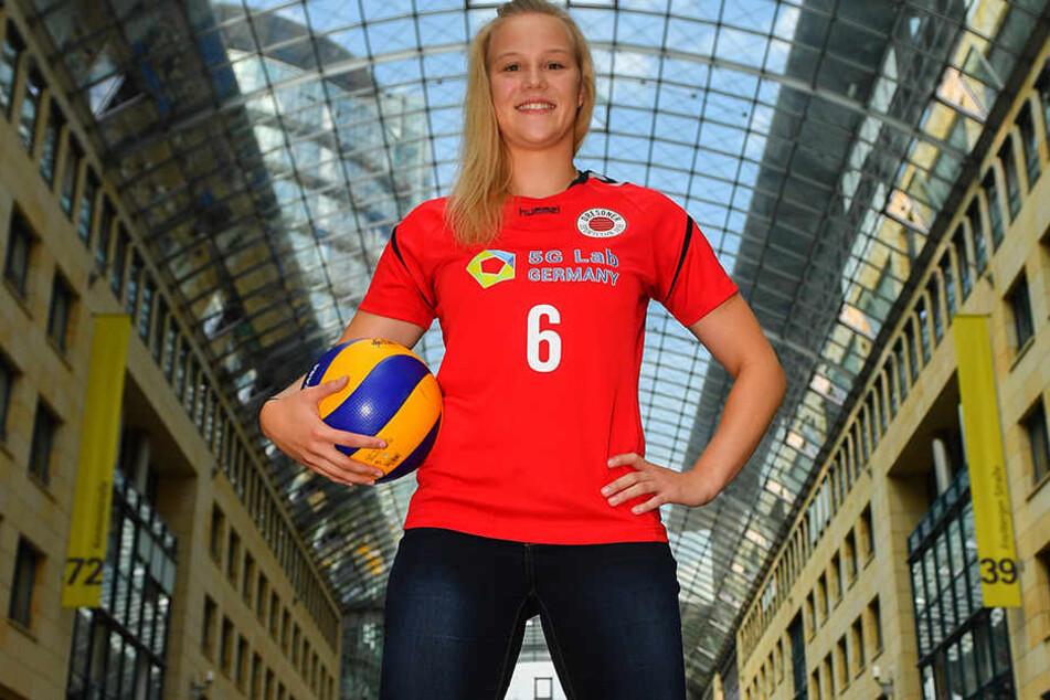 Volleyballerin Michelle Petter ist zurück in Dresden und beim DSC.
