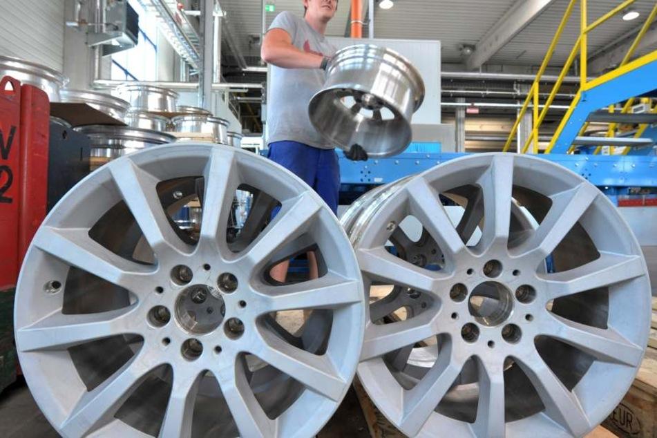 Der Felgenhersteller Borbet fertigt in Sachsen Leichtmetallfelgen und ist auf der IAA vertreten.
