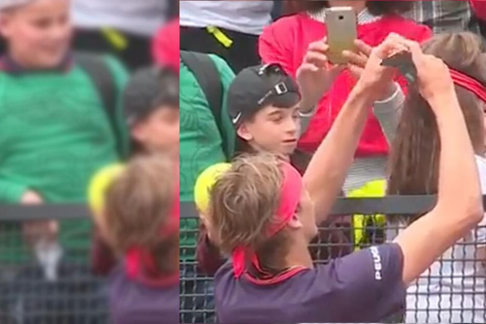 Tennis-Star Zverev schießt Kind ab: Was folgt, ist eine süße Entschuldigung