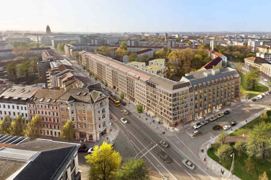 Das künftige Revitalis-Projekt an der Schweriner Straße.