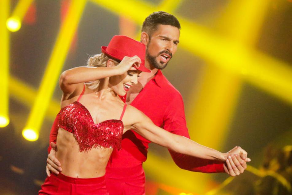 """Benjamin Piwko und Isabel Edvardsson holten sich den dritten Platz bei """"Let's Dance""""."""