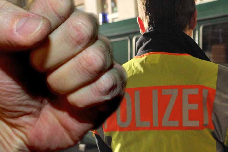 Der Polizist habe durch den Angriff mehrere Kratz- und Schürfwunden im Gesicht und an den Händen erhalten. (Symbolbild)