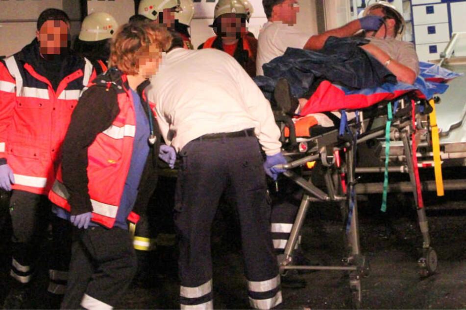 Mehrere Menschen wurden verletzt (Symbolbild).