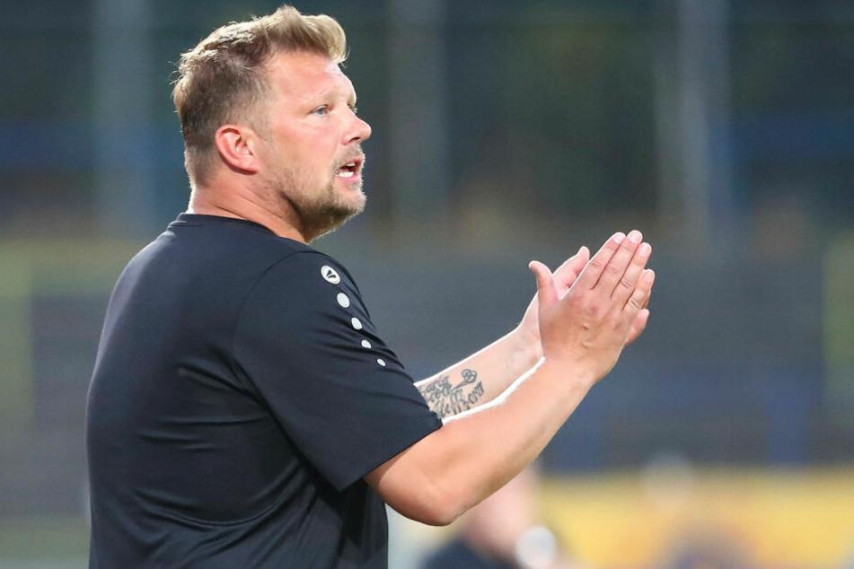 Lok Leipzigs Teammanager Björn Joppe verpasste in Erfurt den zweiten Saisonsieg. (Archivbild)