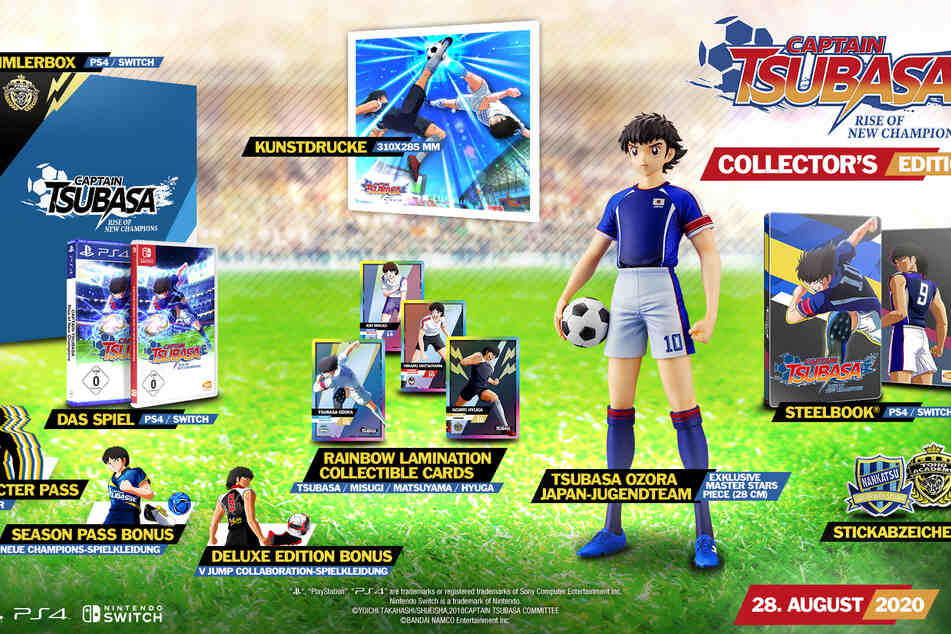 "Die Collector's Edition von ""Captain Tsubasa"" hat es in sich!"