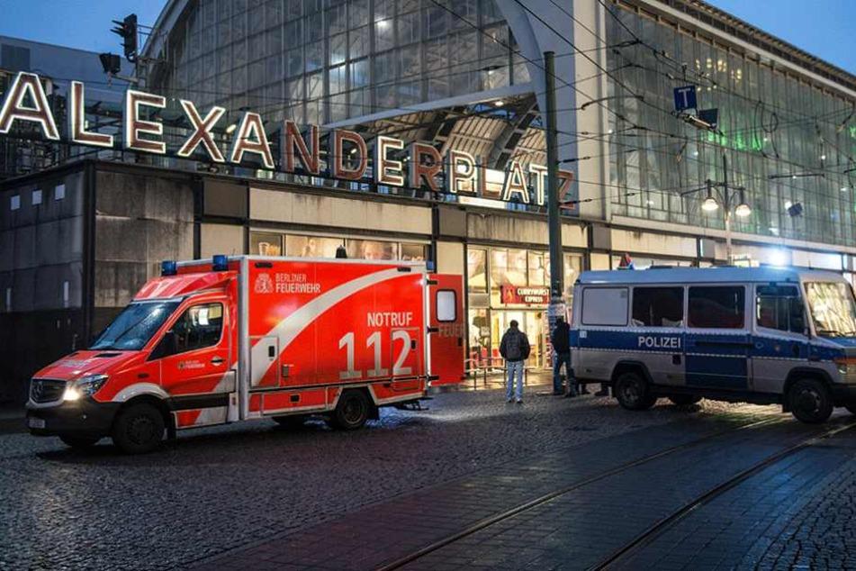 In der Nacht zum Montag wurde eine Frau am Alexanderplatz verletzt (Archivfoto).