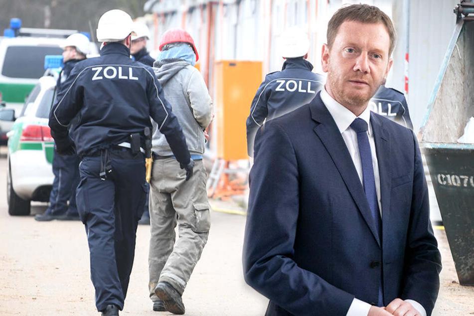 MP Kretschmer will dem Zoll bei Mindestlohn-Kontrollen an die Wäsche