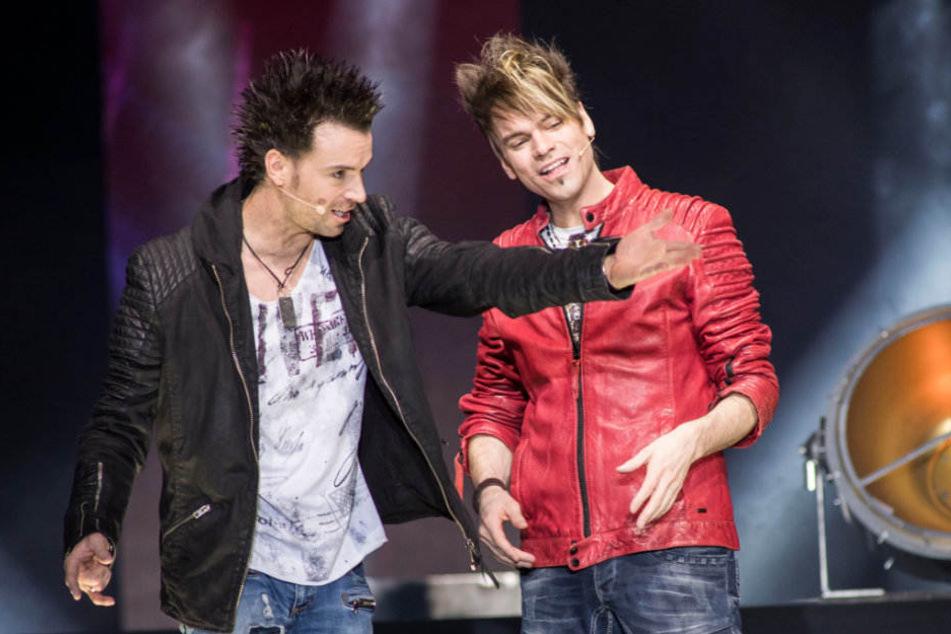 Andreas und Christian sind die Ehrlich Brothers.