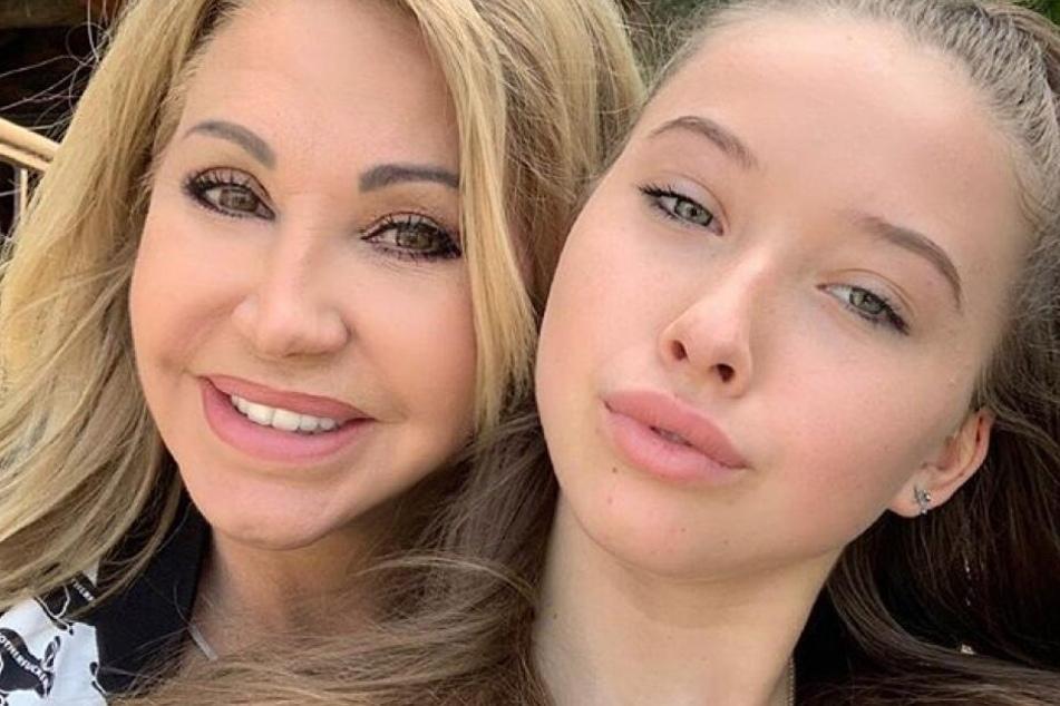Tolles Mutter-Tochter-Selfie bei den Geissens