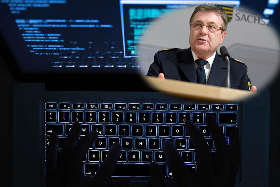 Polizeipräsident Bernd Merbitz sprach 2015 von 100 IT-Fachleuten, die in Leipzig benötigt würden.