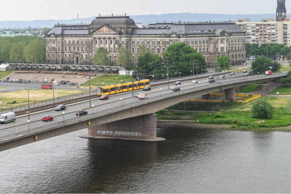 Baustelle Carolabrücke: Das alles kommt ab Montag auf die Dresdner zu