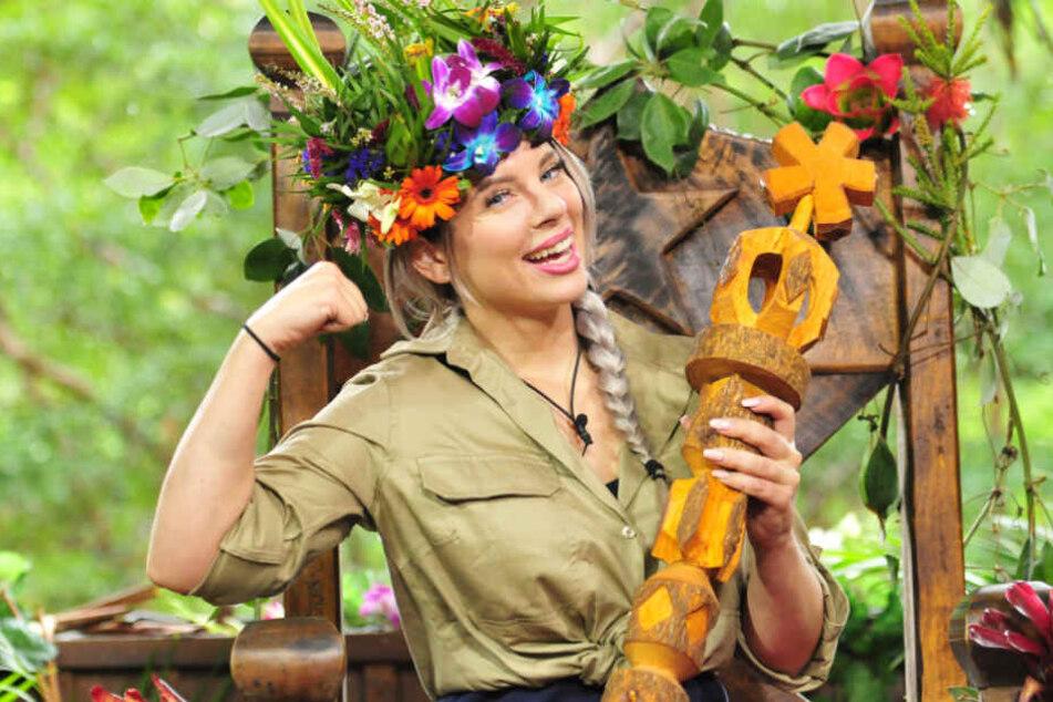 """Jenny Frankhauser wurde 2018 Dschungelkönigin bei der RTL-Show """"Ich bin ein Star - Holt mich hier raus""""."""