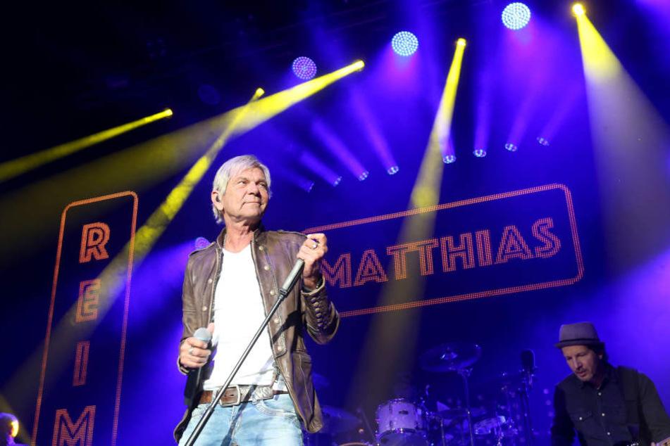 Matthias Reim (60) startete seine aktuelle Tour in Chemnitz.