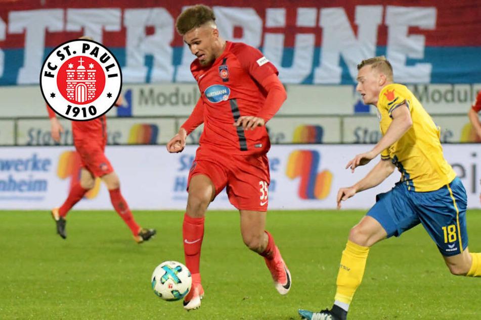 FC St. Pauli schnappt bei Konkurrentem zu: Lankford kommt aus Heidenheim