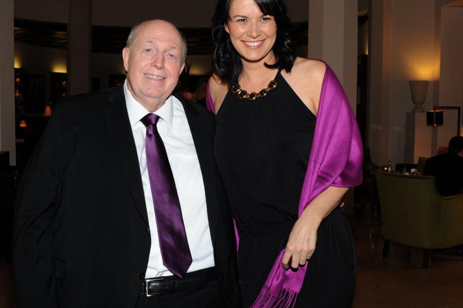 Rainer Calmund mit seiner Lebensgefährtin Sylvia.