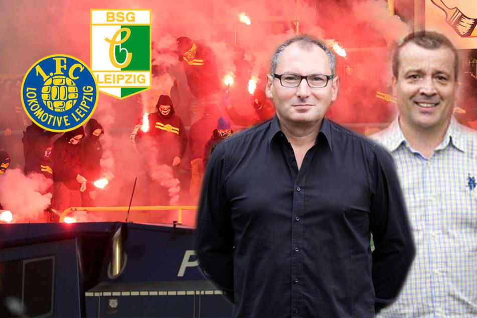 """Eklat beim Leipzig-Derby: """"Den Chaoten ist unser Verein vollkommen egal"""""""