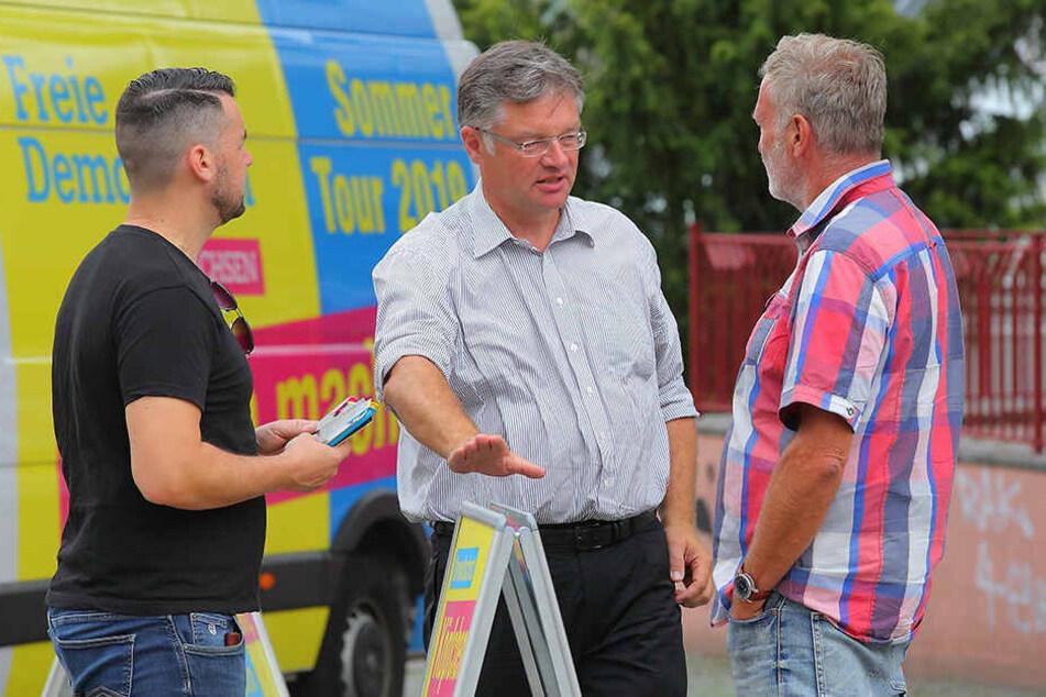FDP-Chef auf Tour: Zastrow gibt den Kümmerer