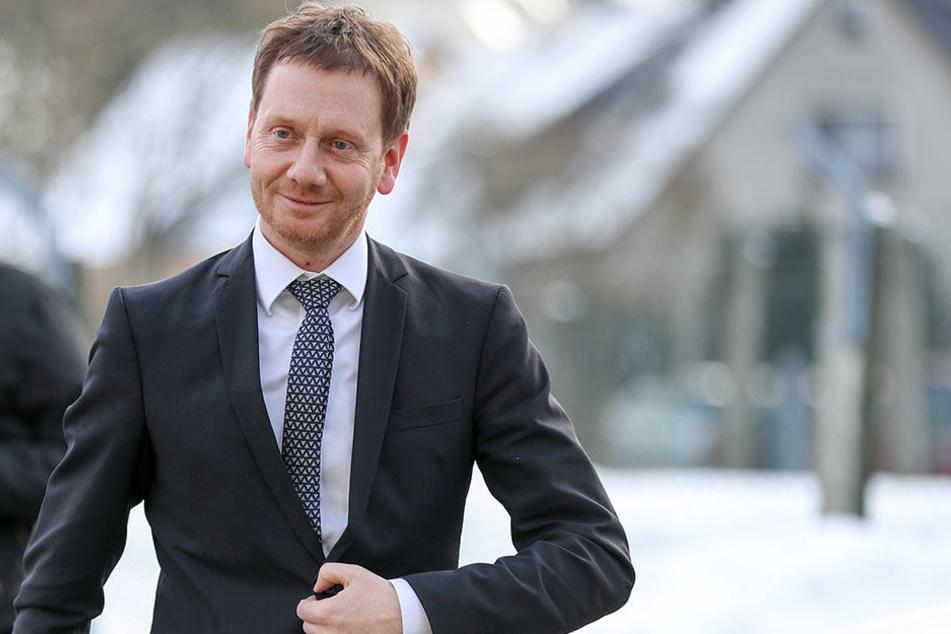 Ministerpräsident Michael Kretschmer (42, CDU).