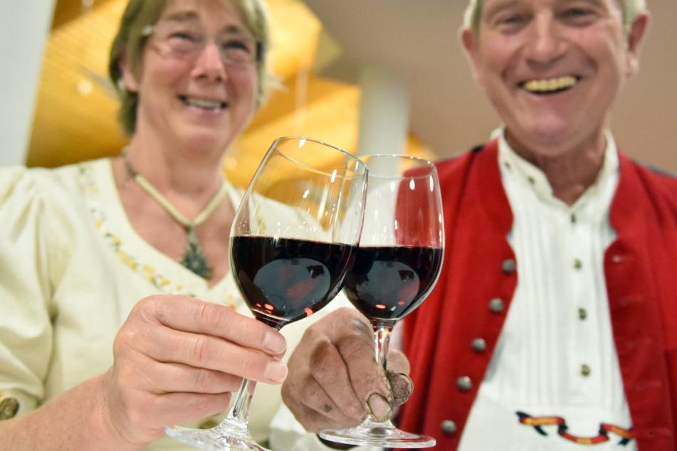 Noch ist er der beliebteste Wein der Schwaben: der Trollinger. Aber wie lange noch? (Symbolfoto)