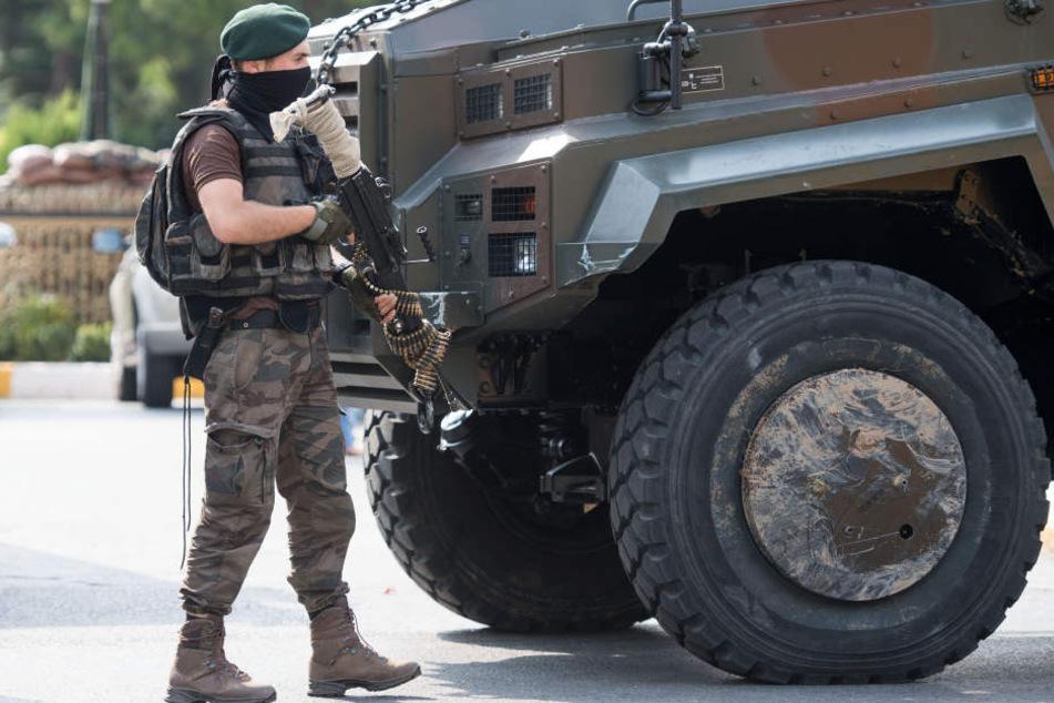 Türkische Polizei erschießt zwei mutmaßliche IS-Attentäter