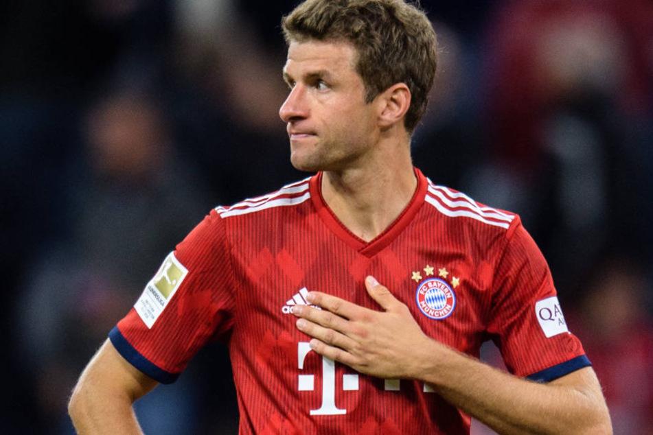 Thomas Müller und der FC Bayern München konnten seit vier Spielen nicht mehr gewinnen.