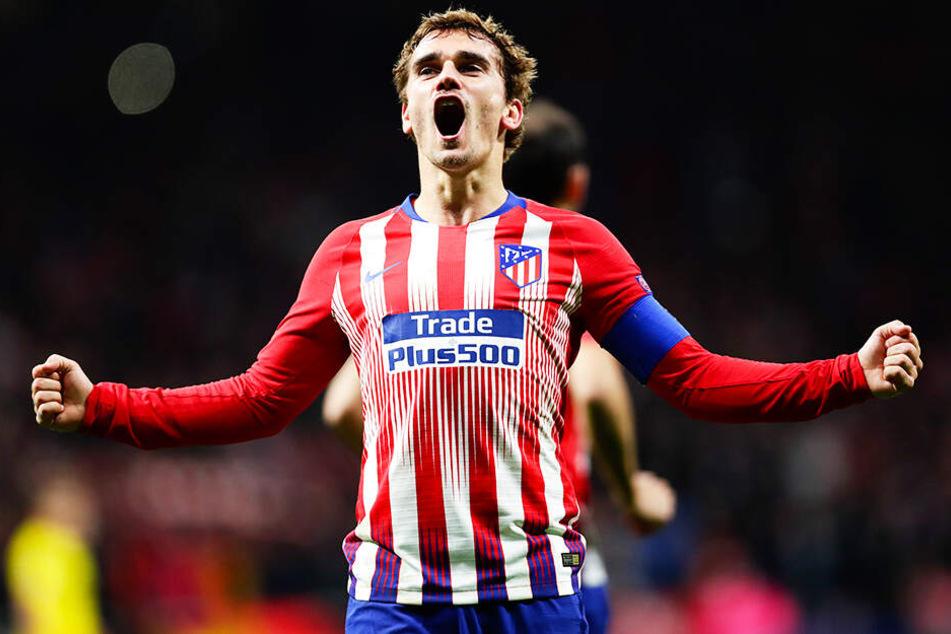 Antoine Griezmann verlässt Atlético Madrid und wechselt für 120 Millionen Euro zum FC Barcelona.