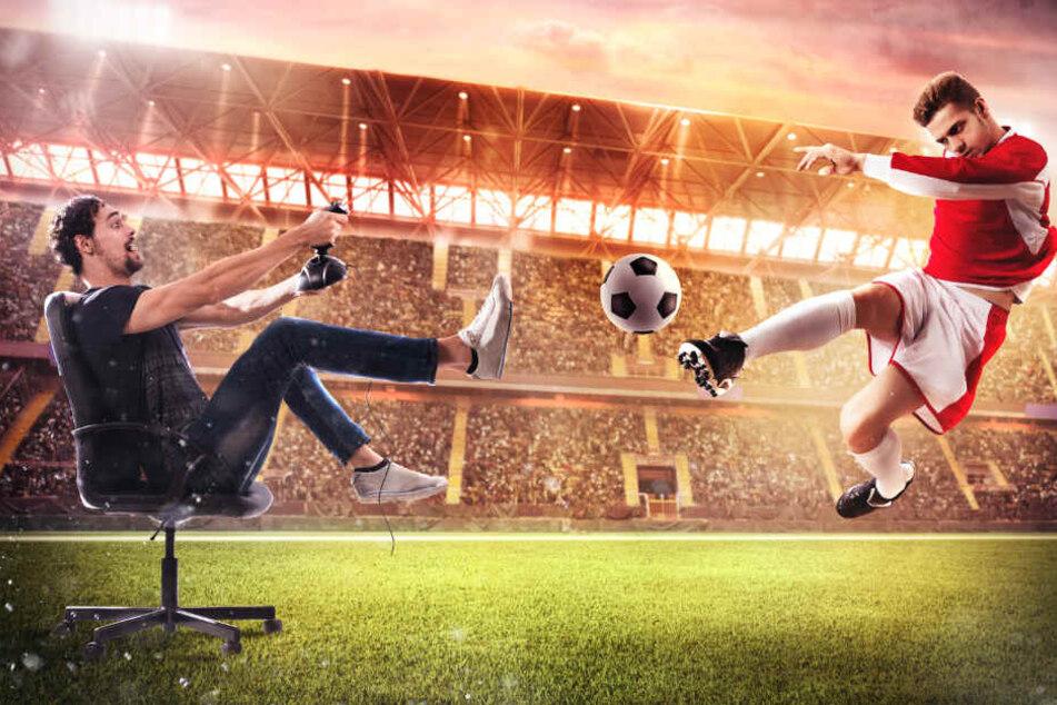 Krampf im Finger, statt in der Wade: Profi-Fußball-Clubs steigen im E-Sport ein. (Symbolbild)