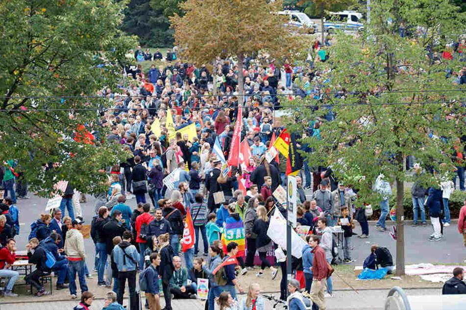38 Demonstrationen sollen durch die Überwachungskameras der Stadt bereits gefilmt worden sein.