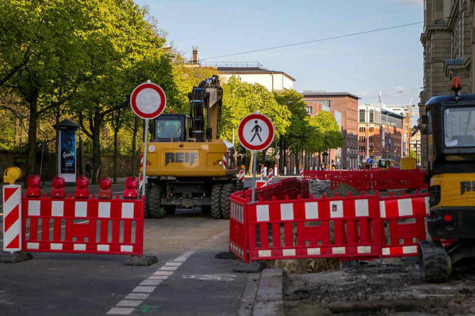 Nördlich des Hauptbahnhofs kommt es für mehr als sieben Wochen zu Verkehrsbehinderungen. (Archivbild)