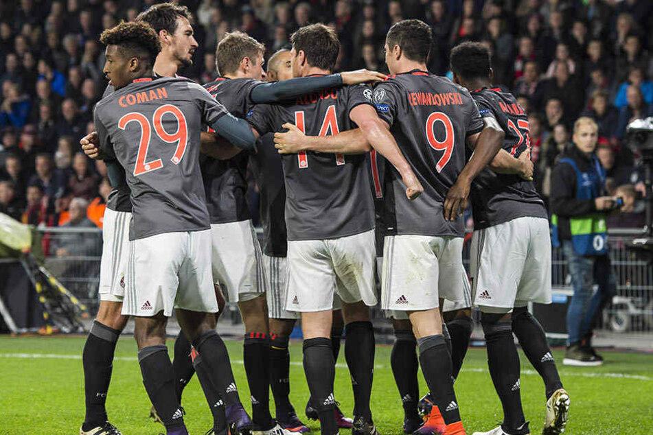 Gegen Hoffenheim werden die Münchner wieder rote Trikots tragen.
